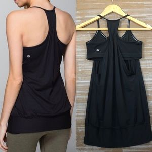 Lululemon No Limit Tank in Black Sz 4